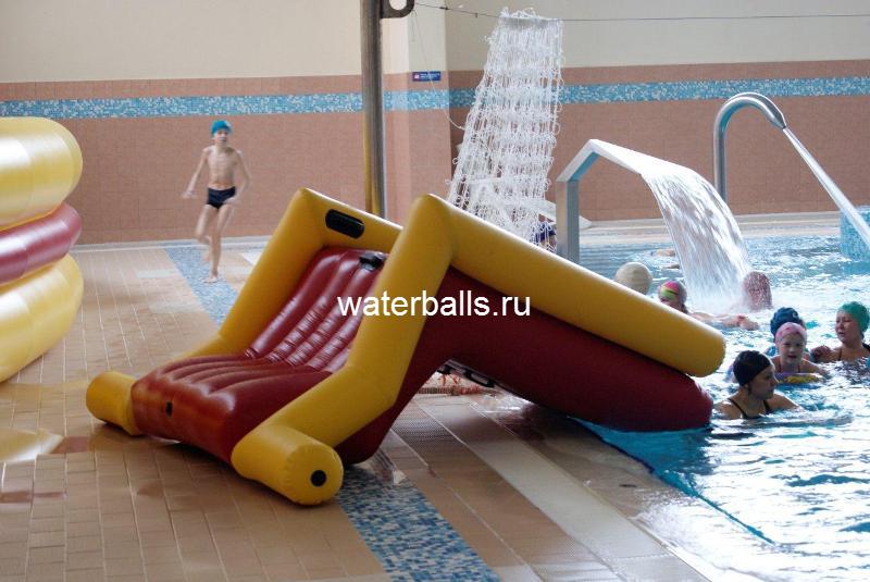 горка малая для бассейна